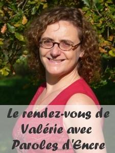 Le rendez-vous de Valérie avec Paroles d'Encre