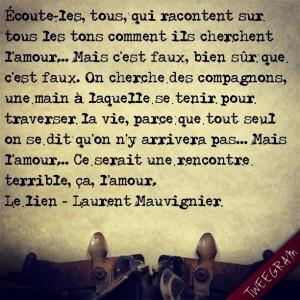 Le Lien - Laurent Mauvignier - Extrait