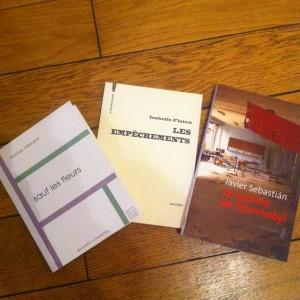 Les livres se promènent en novembre