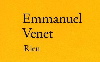 Rien – Emmanuel Venet