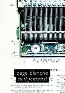 Page blanche – Neil Jomunsi